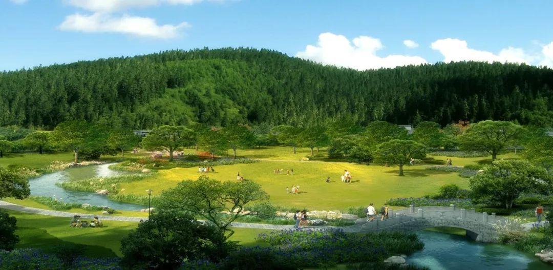 龙泉山城市森林公园效果图图片