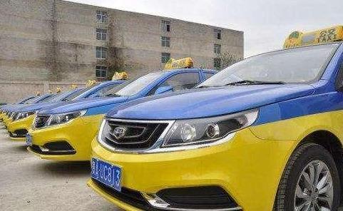 西安市首批甲醇出租车在今天亮相