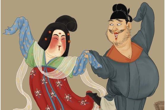 安禄山上位哲学,人不要脸天下无敌,在杨贵妃面前当婴儿!