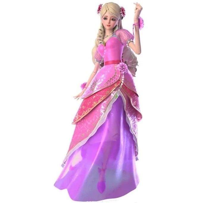 灵公主在《叶罗丽》中唯一一次生气,一点杀伤力也没有,所以当她变图片