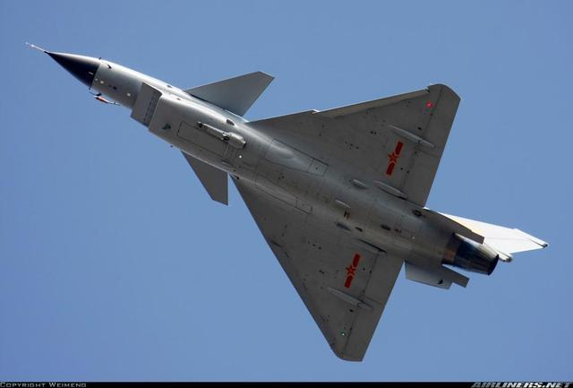 中国的歼10同样采用鸭式三角翼布局图片