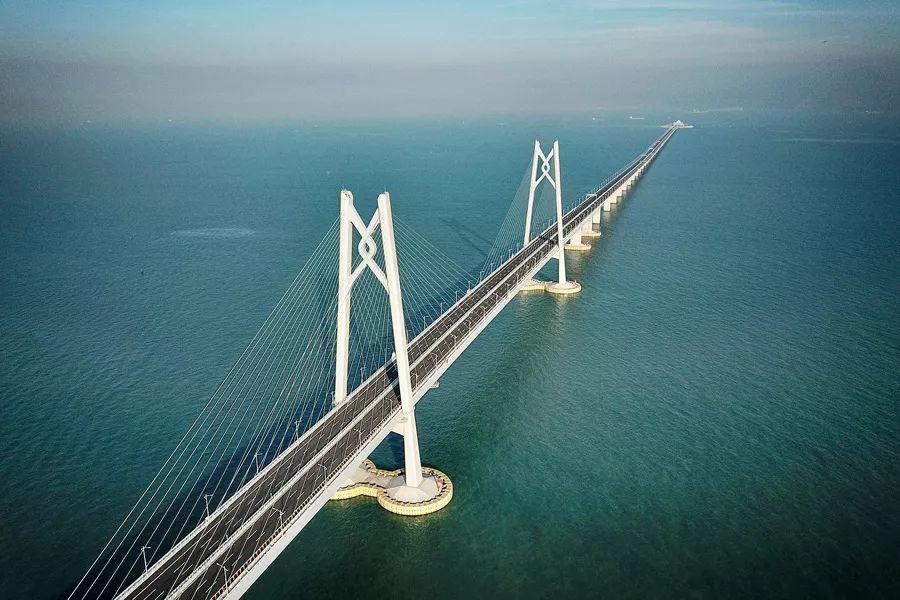 港珠澳大桥正式通车图片