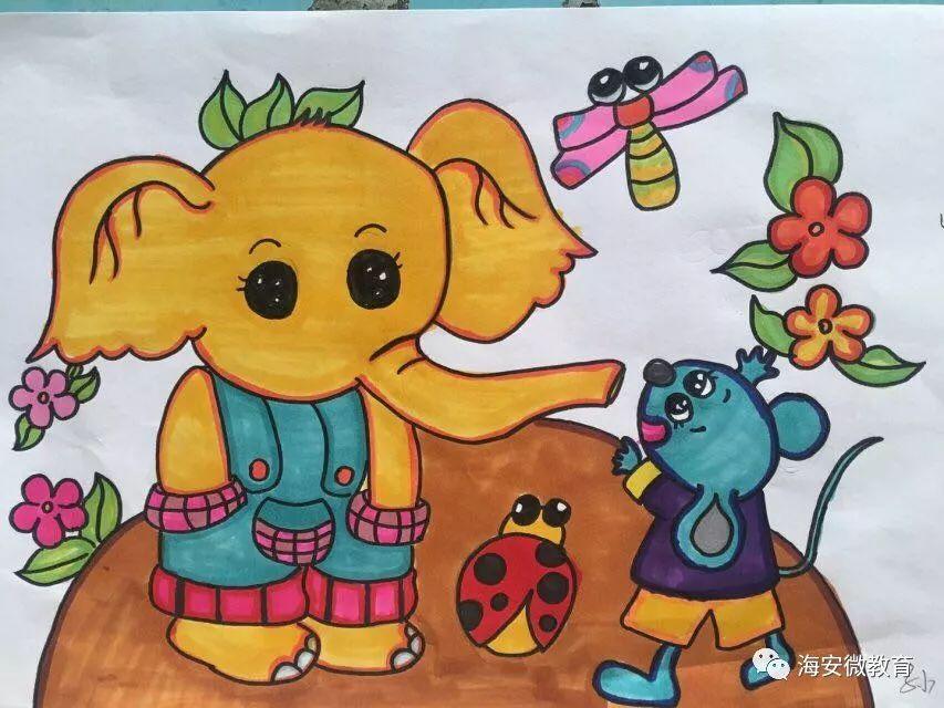 壮志幼儿园 老师们的主题绘画展