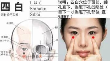 爱人人体美穴_四白穴位于人体面部,瞳孔直下,当眶下孔凹陷处.