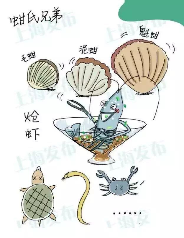 注意!上海禁止生產經營這些食品品種,看看都有哪些水產品?