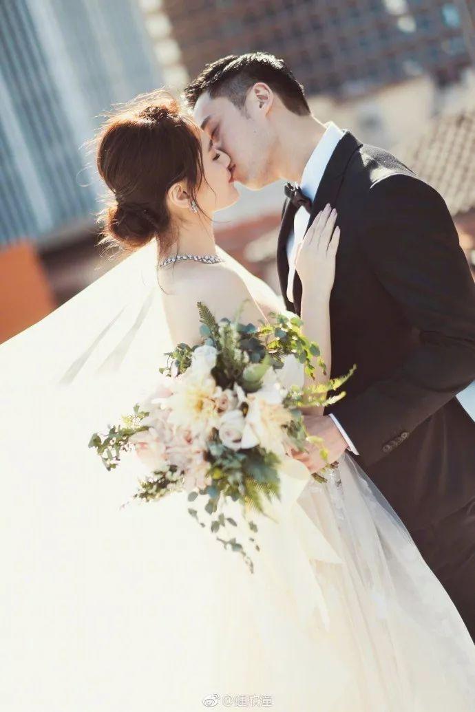 阿娇今日大婚,终于天后变新娘