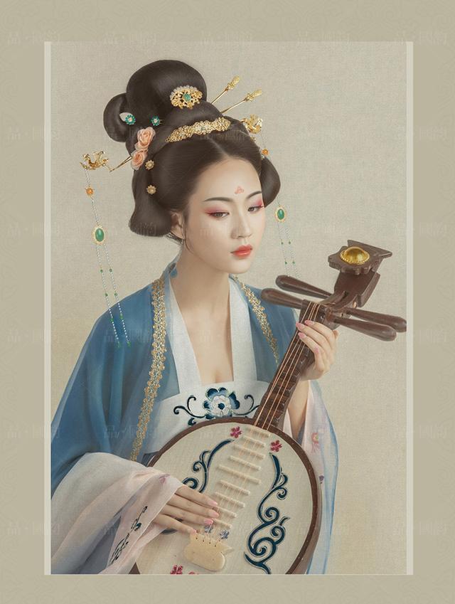 「品·国韵」古风艺术照 武汉古装写真(汉唐系列-皓蓝