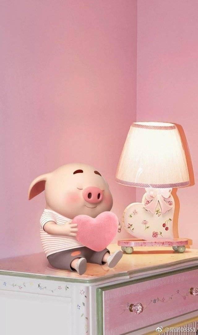 最近被呆萌可爱的神仙猪洗脑了 喜欢的请关注,以后继续更