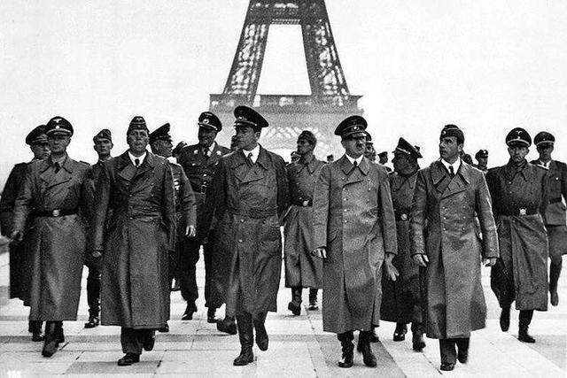 二战中被灭国的法国市民生活怎样?咖啡馆爆满,女人们打扮起来