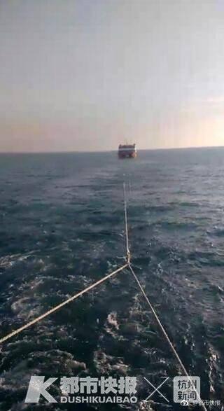 浙江渔民在东海发现神秘游轮:装修豪华却空无一人