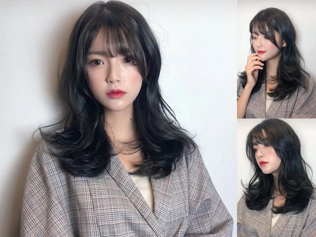 """2019最流行时尚的""""发根烫"""",头发细软的女生烫很好看图片"""