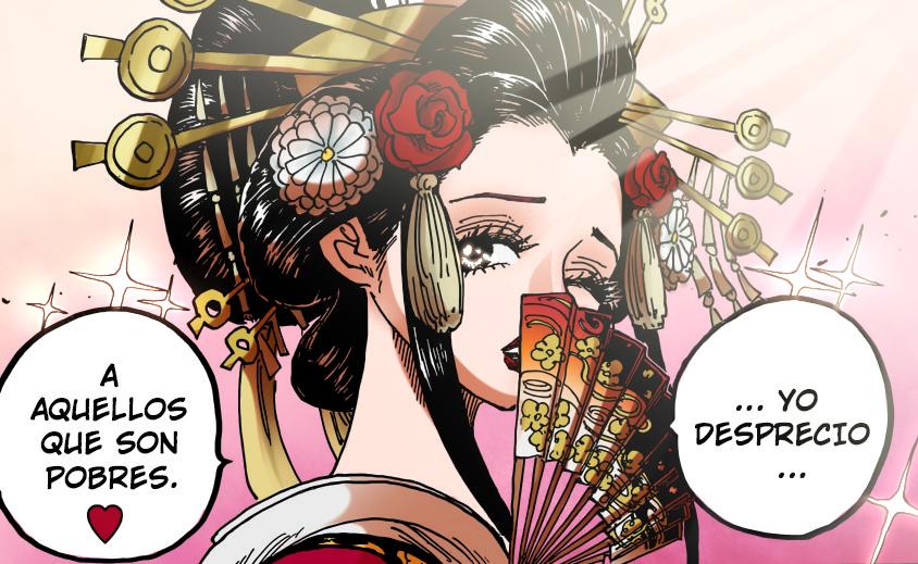 女帝和小紫,谁是海贼王第一美女?尾田:看山治表情