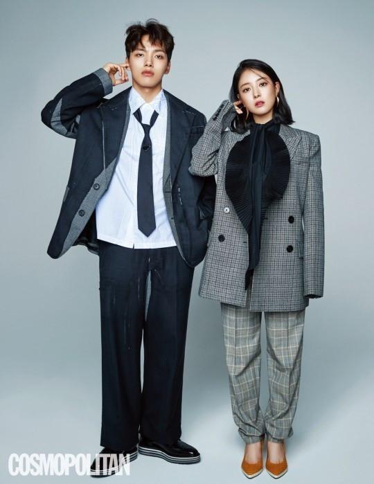 李和王能组个啥名_tvn《成为王的男人》主演吕珍九李世英携手拍画报