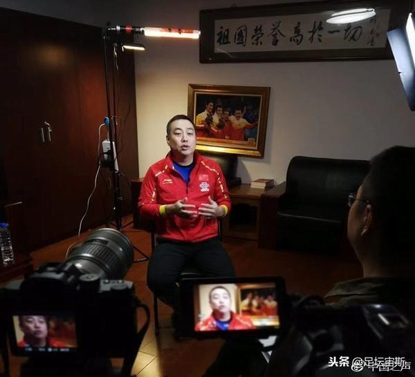 刘国梁办公室曝光!8个大字振聋发聩2冠军执教国乒没编制住酒店