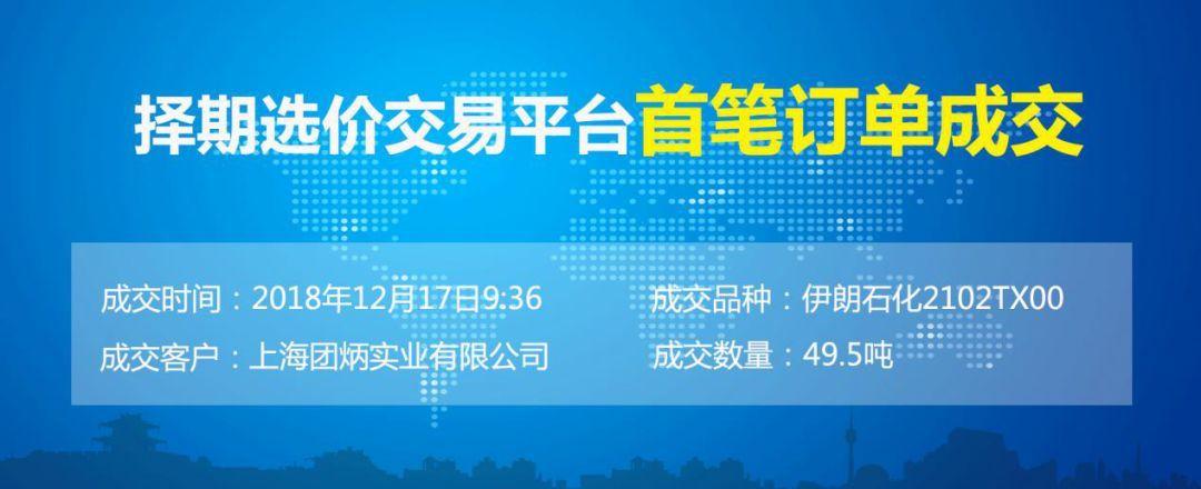 """临商中心临沂国际商品交易中心""""择期选价交易""""系统首单正式成交"""