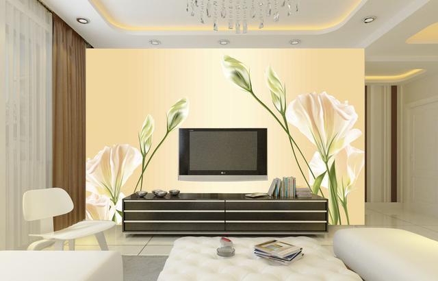 不管是3d的还是正常的壁纸电视背景墙,都能才来不一样的视觉刺激!