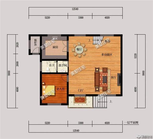 3款二层农村自建房设计图,一款带车库,一款带柴灶,哪款最实用