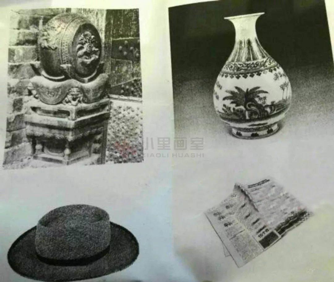 更新中 色彩考题:一个闹钟,一个布袋,一个水杯,一块衬布 创意设计考题图片