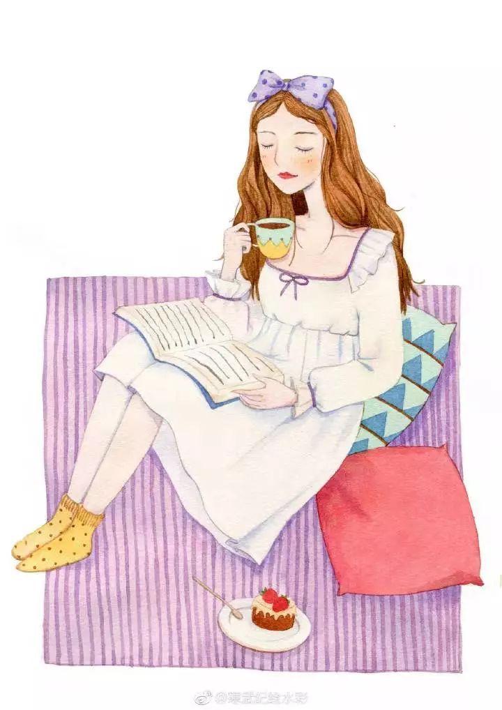 干货|教你一幅简单手绘——森林童话系的兔子小姐