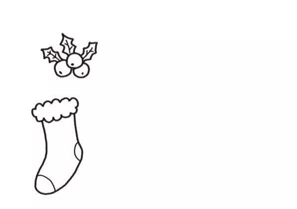 简单有趣的圣诞节主题简笔画来了