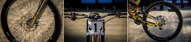 美骑年度盘点 2018山地世界杯世锦赛冠军战车(DH)