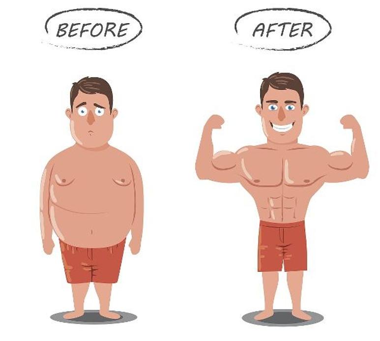 男生减肥方法,强烈推荐,男士减肥最有效方法!