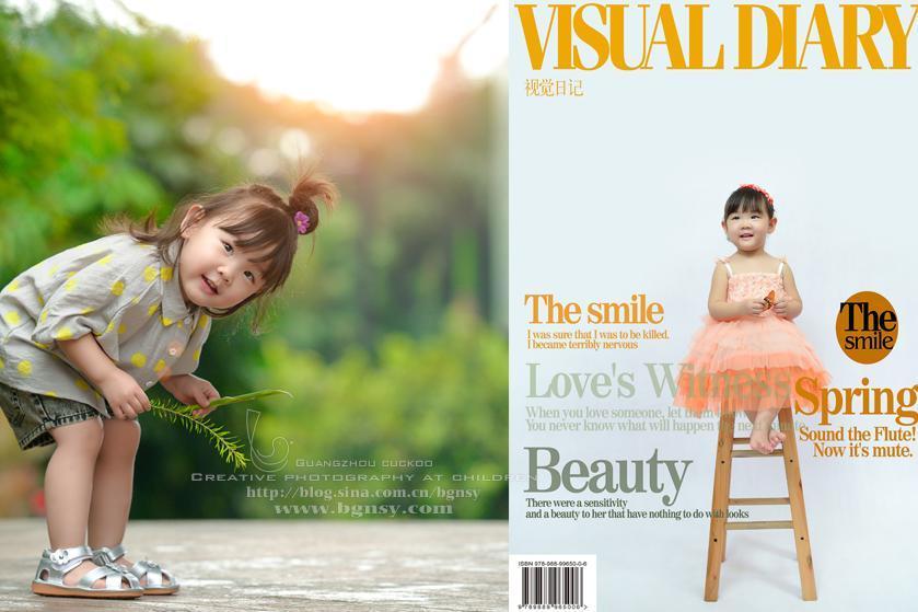 原色影像小王子小美_小美妞选择广州布谷鸟创意儿童摄影馆纯外景拍摄