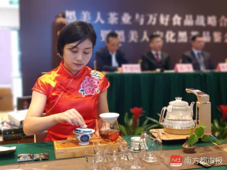 普洱茶和白茶要慌了!湖南黑茶携手餐饮大鳄抢先布局东莞人餐桌