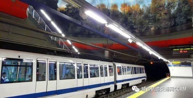 马德里轻轨线采用法国阿尔斯通(a1stom)公司提供的a1stomcitadis302
