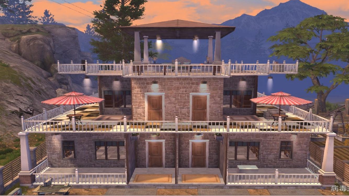 明日之后别墅设计图纸一览 明日之后3层别墅建造图及方案