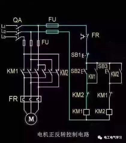 15个常见的电工中级电路图,会操作12个才算得上是电工