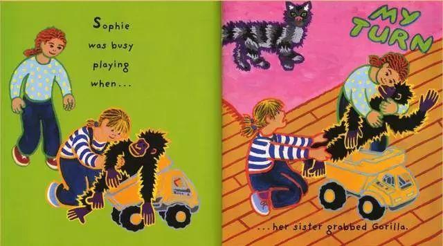 《菲菲生气了》绘本介绍  解析 试读 批发-第2张图片-58绘本网-专注儿童绘本批发销售。
