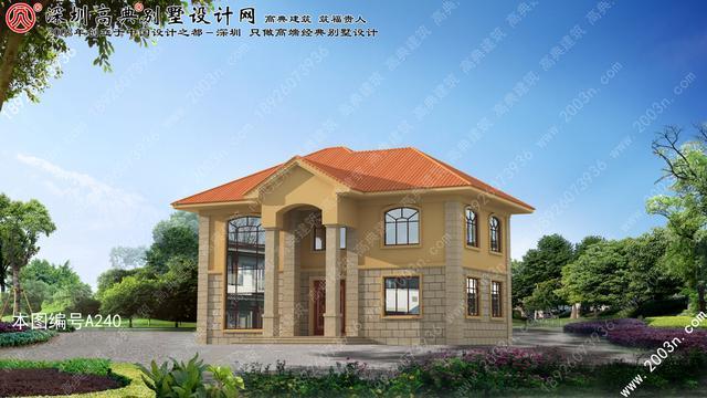 农村二层楼房设计图纸大全首层152平方米房屋设计图