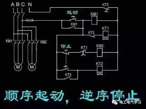 6,三相电动机正反转 互锁控制电路.
