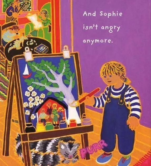 《菲菲生气了》绘本介绍  解析 试读 批发-第18张图片-58绘本网-专注儿童绘本批发销售。