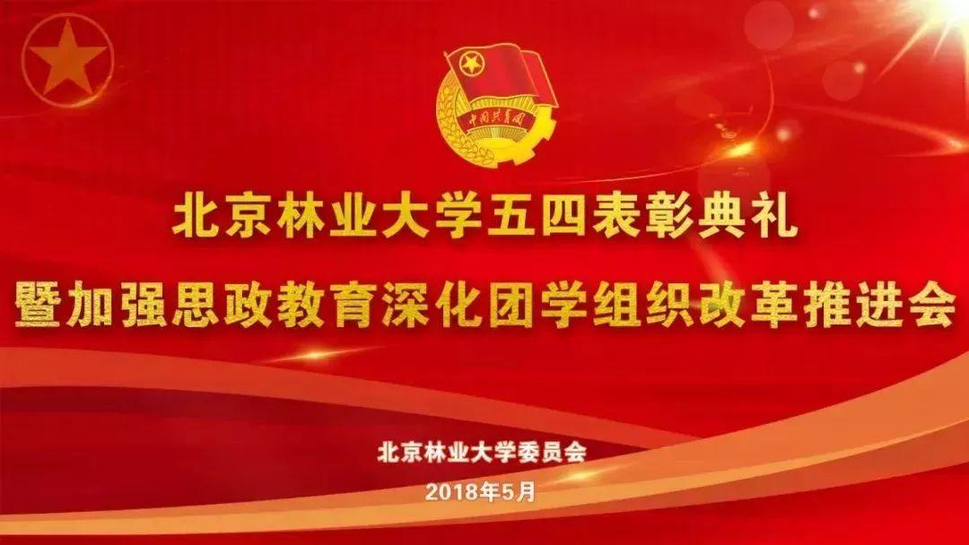 """6.""""唱响中国梦,奋进新时代""""北京林业大学2018五月的花海合唱比赛"""