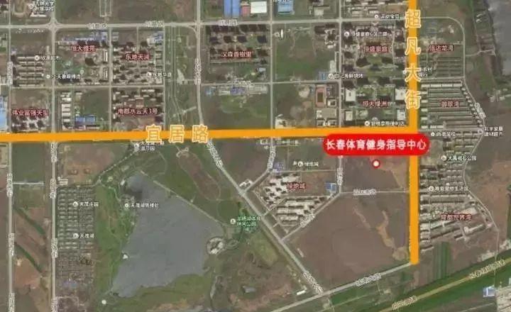 2020长春新区规划图