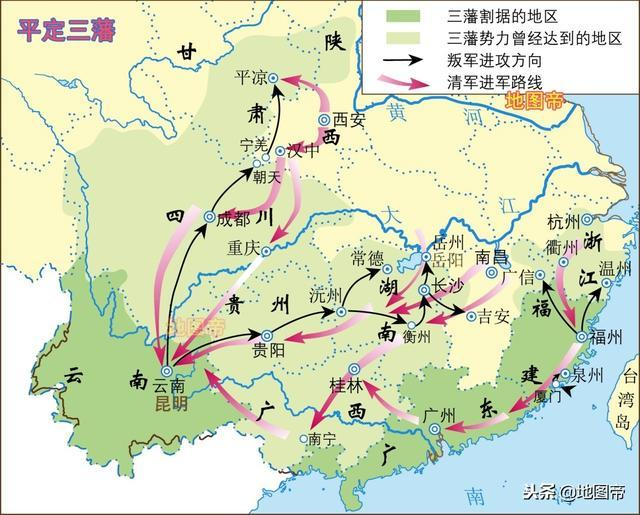 三藩之乱,吴三桂为何不攻占江西...