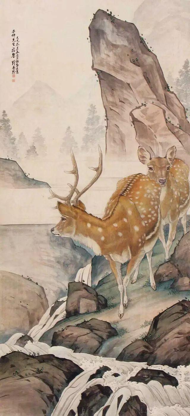 一代宗师刘奎龄工笔画欣赏,百幅高清!