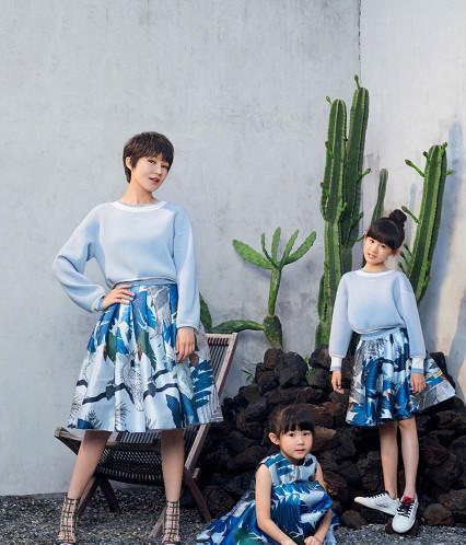 陸毅才是真的人生大贏家!鮑蕾+2個女兒都是天仙顏值,美炸了 形象穿搭 第4張