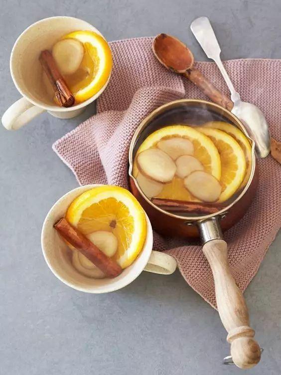 晚饭后喝一杯生姜食品,红茶暖起来,质量循环a晚饭,不仅睡眠糖醇提高血液身体图片