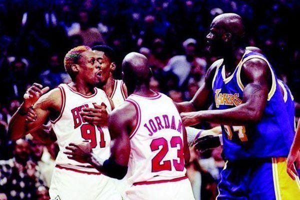 NBA5大经典的垃圾话,奥尼尔喷罗德曼:我奶奶和