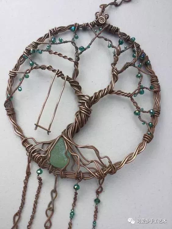 珠子diy手工制作图片