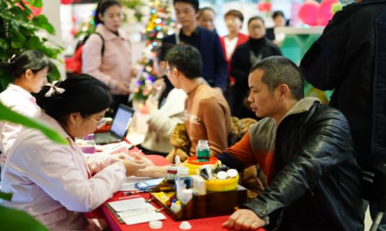 完美福建分公司隆重举办百城千店公益献血活动