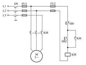 45张电工常用电动机控制电路图图片