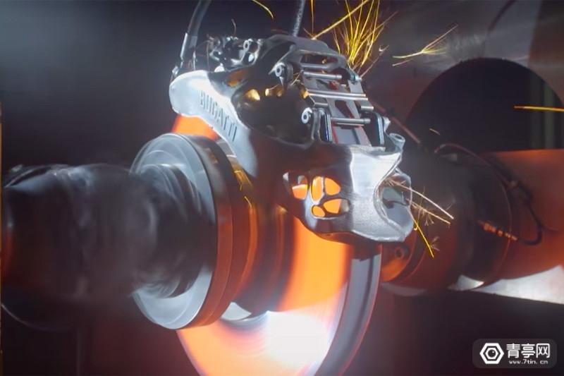 致力于量产普及布加迪测试首个3D打印制动器_陕西快乐十分今日开