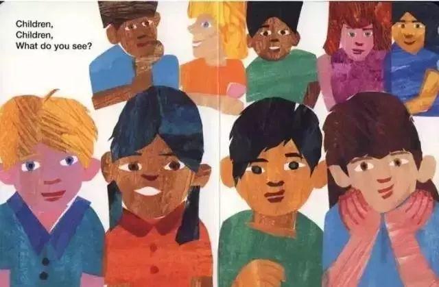Brown Bear,Brown Bear,What do you see ? 棕熊,棕熊,你看到了什么?   英文绘本在线观看阅读 音频视频分享-第12张图片-58绘本网-专注儿童绘本批发销售。