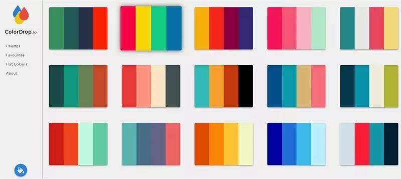 网页颜色搭配器_收藏这7个在线配色神器,再也不愁配色灵感 !_颜色