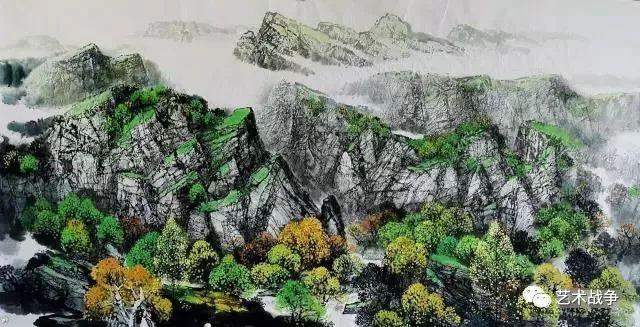 范迪安为赵寒翔画作题款,锦上添花的世纪佳作