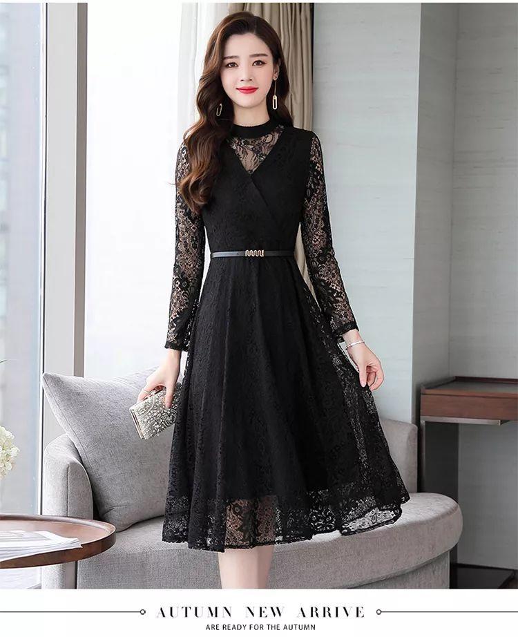 连衣裙新款优雅
